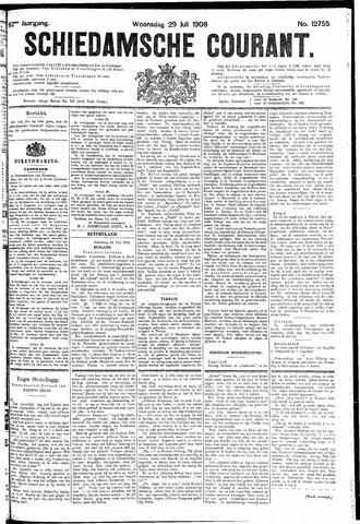 Schiedamsche Courant 1908-07-29