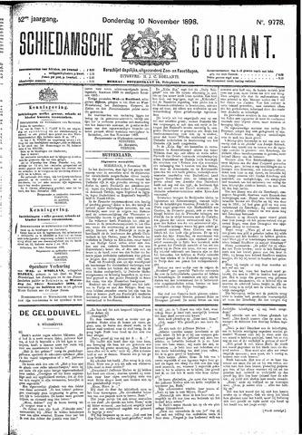 Schiedamsche Courant 1898-11-10
