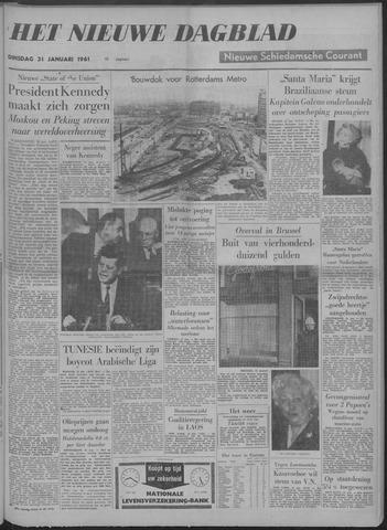 Nieuwe Schiedamsche Courant 1961-01-31