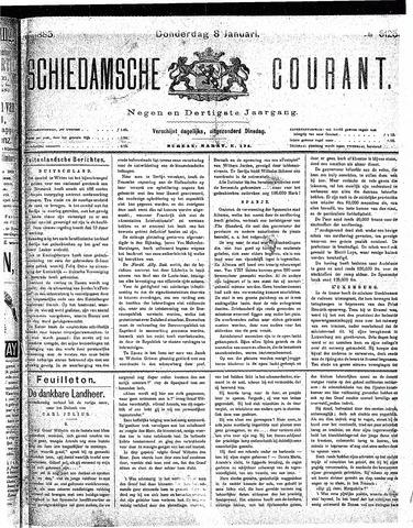 Schiedamsche Courant 1885-01-08