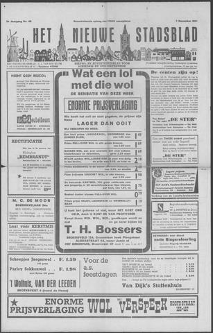 Het Nieuwe Stadsblad 1951-12-07