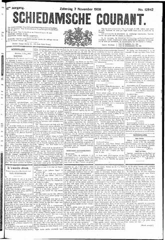 Schiedamsche Courant 1908-11-07