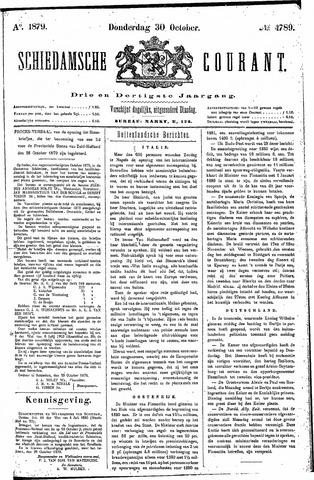 Schiedamsche Courant 1879-10-30