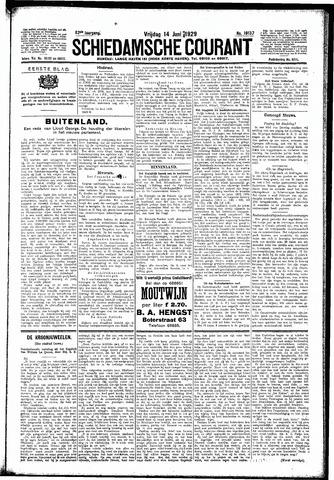 Schiedamsche Courant 1929-06-14
