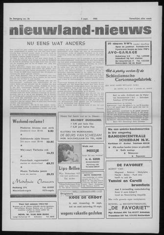 Nieuwland Nieuws 1964-09-03