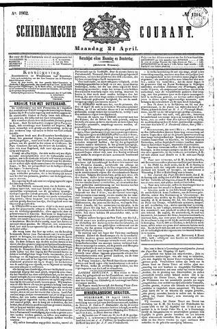 Schiedamsche Courant 1862-04-21