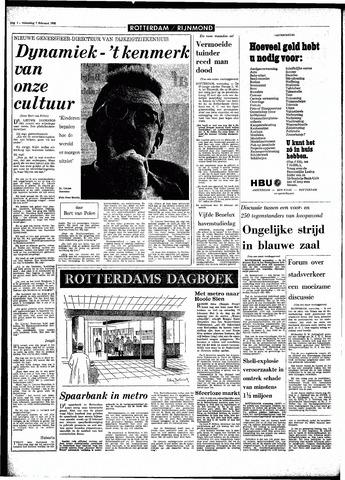 Rotterdamsch Parool / De Schiedammer 1968-02-07