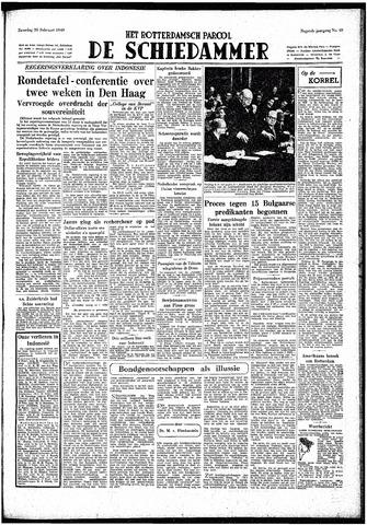 Rotterdamsch Parool / De Schiedammer 1949-02-26