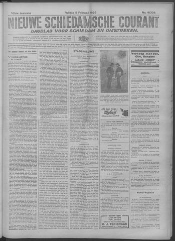 Nieuwe Schiedamsche Courant 1929-02-08