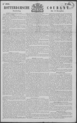 Rotterdamse Courant 1851-12-11