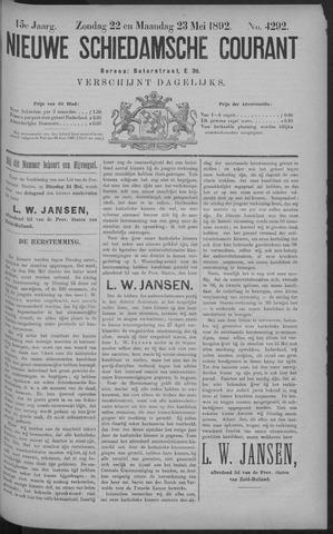 Nieuwe Schiedamsche Courant 1892-05-23