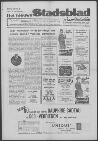 Het Nieuwe Stadsblad 1961-09-01