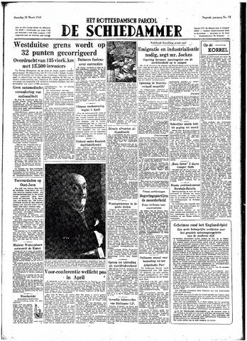Rotterdamsch Parool / De Schiedammer 1949-03-28