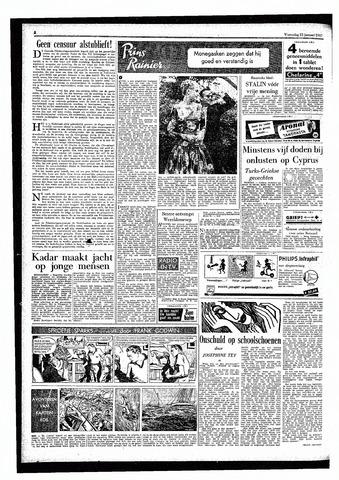 Rotterdamsch Parool / De Schiedammer 1957-01-23