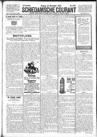 Schiedamsche Courant 1927-11-25