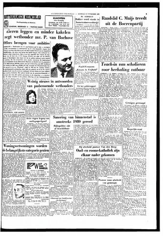 Rotterdamsch Nieuwsblad / Schiedamsche Courant / Rotterdams Dagblad / Waterweg / Algemeen Dagblad 1966-11-22