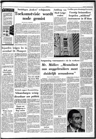 Trouw / De Rotterdammer 1970-08-07