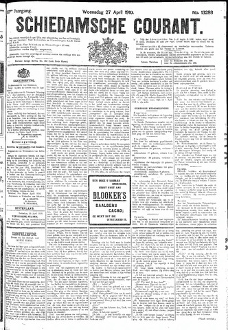 Schiedamsche Courant 1910-04-27