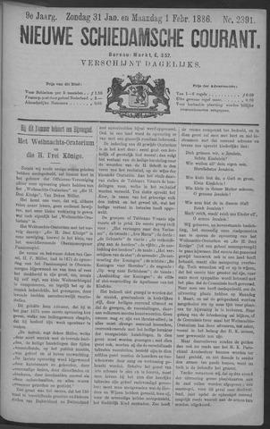 Nieuwe Schiedamsche Courant 1886-02-01