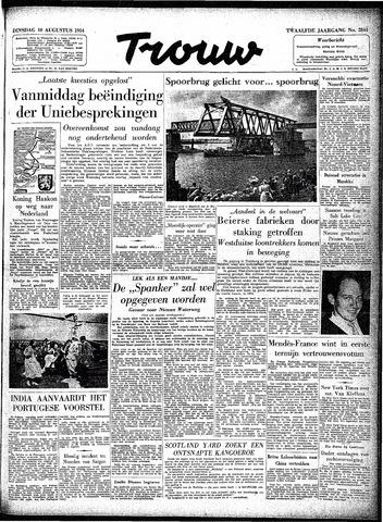 Trouw / De Rotterdammer 1954-08-10