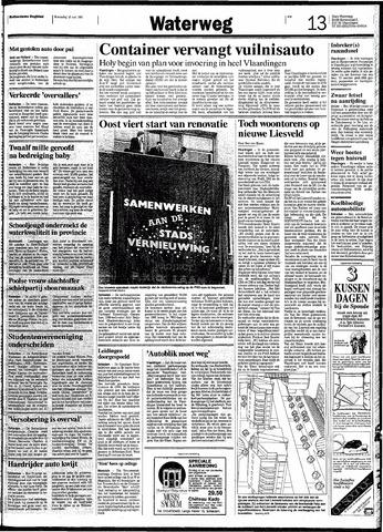Rotterdamsch Nieuwsblad / Schiedamsche Courant / Rotterdams Dagblad / Waterweg / Algemeen Dagblad 1991-05-15