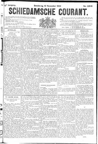 Schiedamsche Courant 1908-11-12