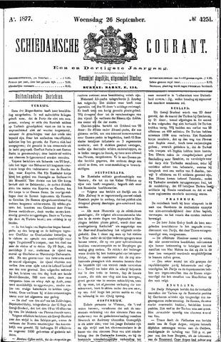 Schiedamsche Courant 1877-09-26