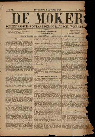 De Moker 1903