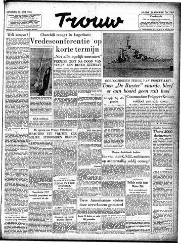 Trouw / De Rotterdammer 1953-05-12