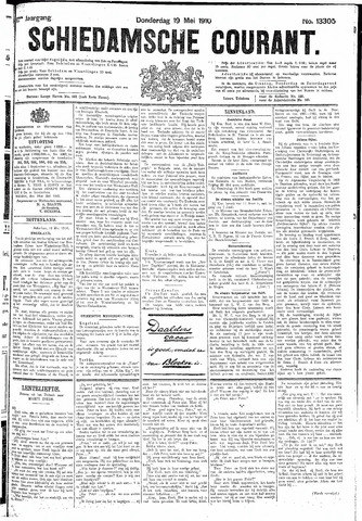 Schiedamsche Courant 1910-05-19
