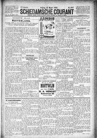 Schiedamsche Courant 1929-03-15
