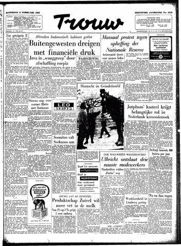 Trouw / De Rotterdammer 1958-02-08