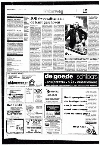 Rotterdamsch Nieuwsblad / Schiedamsche Courant / Rotterdams Dagblad / Waterweg / Algemeen Dagblad 1993-03-16