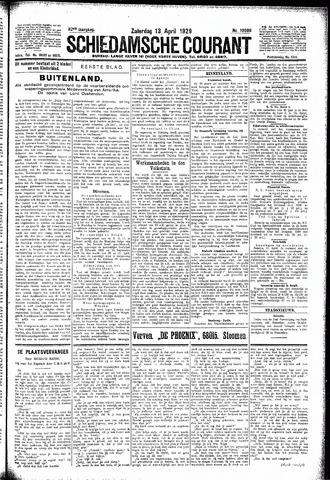 Schiedamsche Courant 1929-04-13