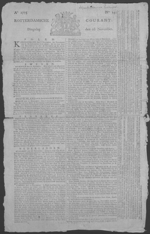 Rotterdamse Courant 1775