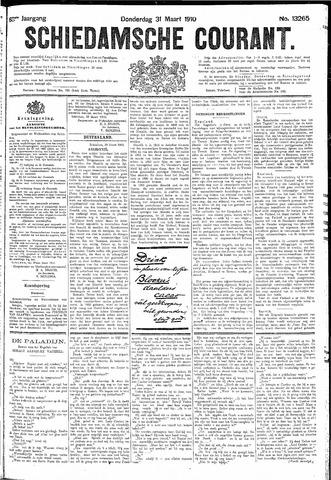 Schiedamsche Courant 1910-03-31