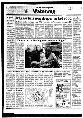 Rotterdamsch Nieuwsblad / Schiedamsche Courant / Rotterdams Dagblad / Waterweg / Algemeen Dagblad 1993-09-01