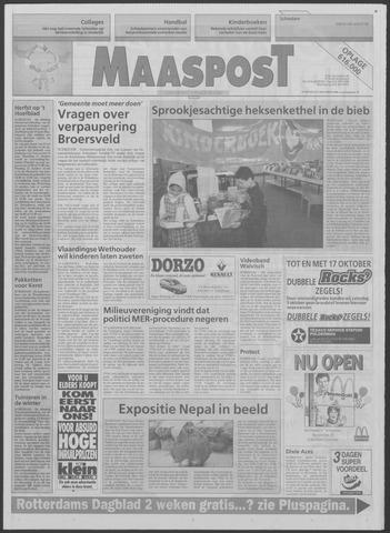 Maaspost / Maasstad / Maasstad Pers 1996-10-09