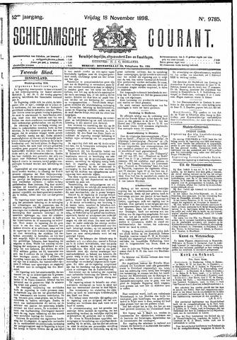 Schiedamsche Courant 1898-11-18