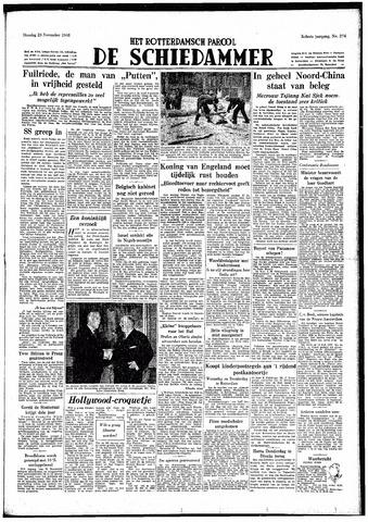Rotterdamsch Parool / De Schiedammer 1948-11-23