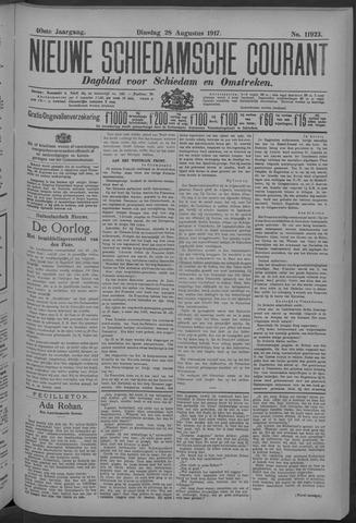 Nieuwe Schiedamsche Courant 1917-08-28