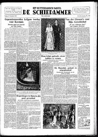 Rotterdamsch Parool / De Schiedammer 1947-11-21