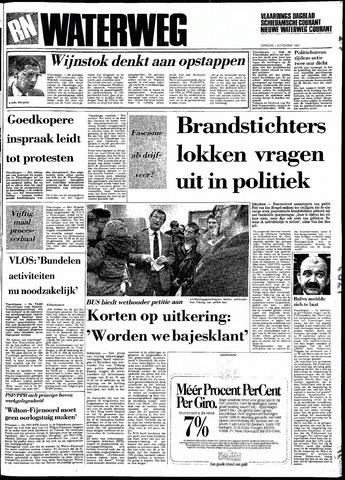 Rotterdamsch Nieuwsblad / Schiedamsche Courant / Rotterdams Dagblad / Waterweg / Algemeen Dagblad 1983-11-01