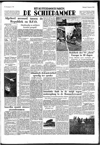 Rotterdamsch Parool / De Schiedammer 1949-08-02