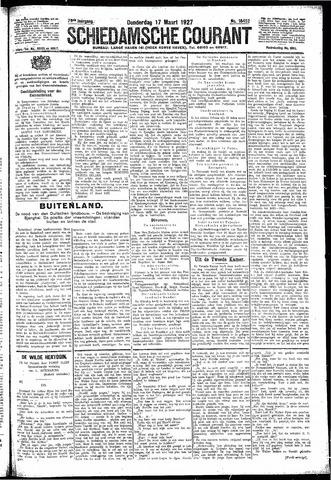 Schiedamsche Courant 1927-03-17