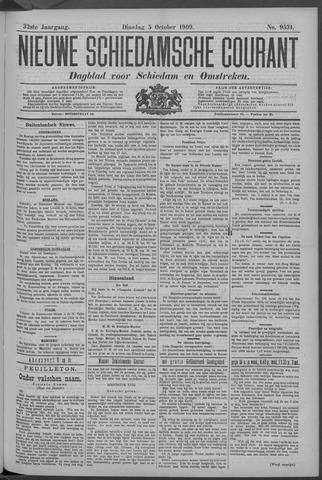 Nieuwe Schiedamsche Courant 1909-10-05