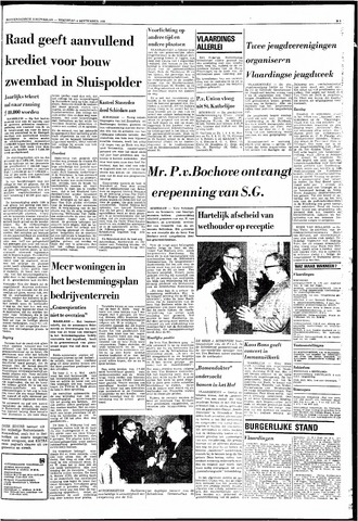 Rotterdamsch Nieuwsblad / Schiedamsche Courant / Rotterdams Dagblad / Waterweg / Algemeen Dagblad 1968-09-04