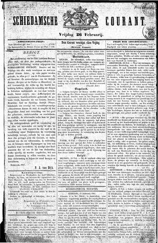 Schiedamsche Courant 1847-02-26