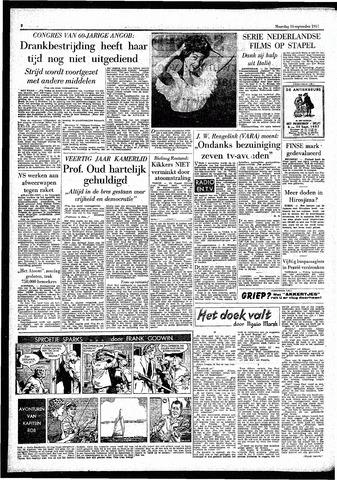 Rotterdamsch Parool / De Schiedammer 1957-09-16