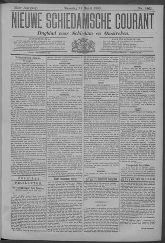 Nieuwe Schiedamsche Courant 1909-03-15